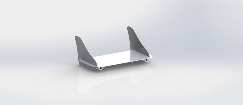 Drone aile à double empennage Rendering Empennegae.JPG