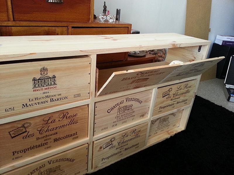 Meuble En Caisses De Vin Wikifab
