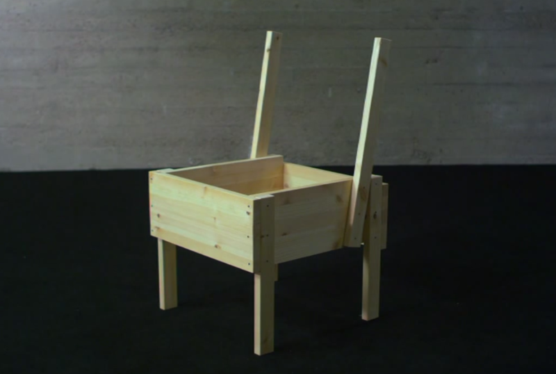 Chaise Sedia assise en bois open-source Chaise Sedia 09.png