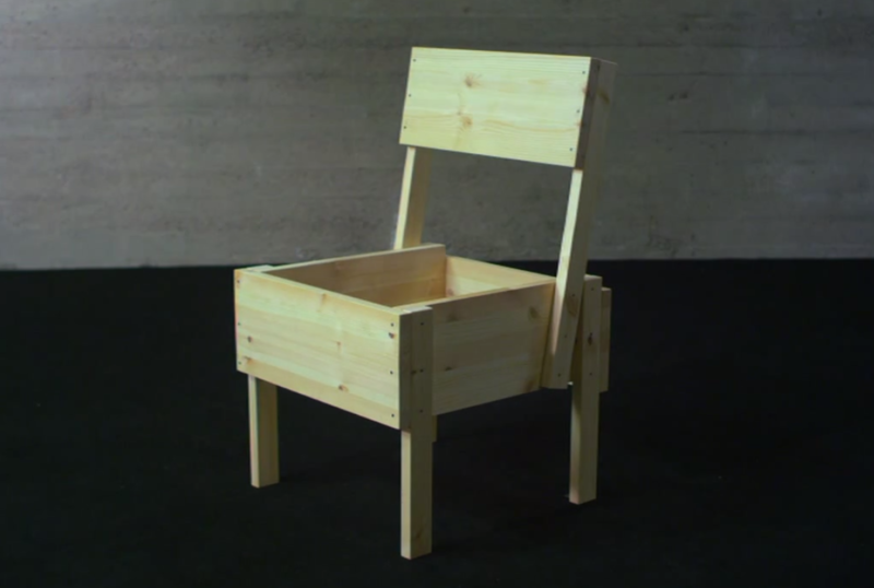 Chaise Sedia assise en bois open-source Chaise Sedia 10.png