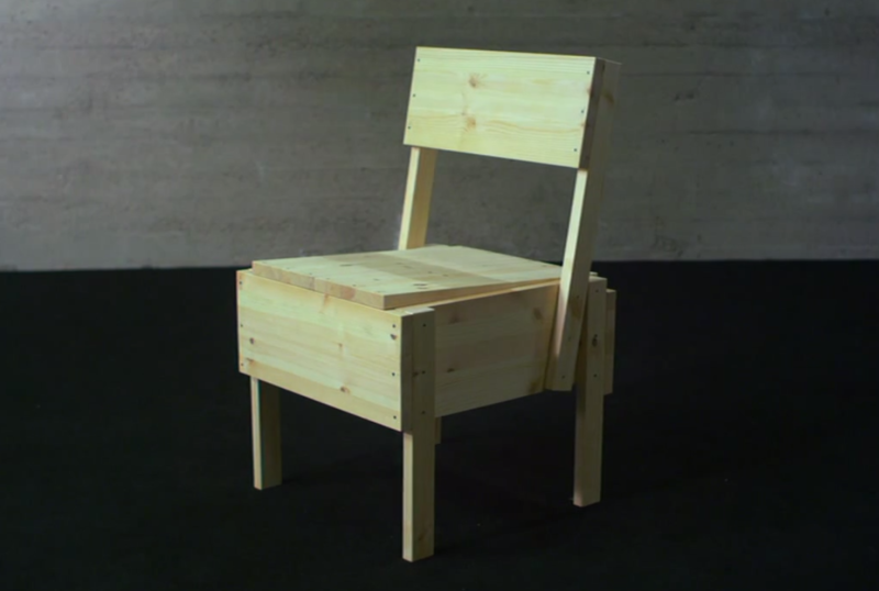 Chaise Sedia assise en bois open-source Chaise Sedia 11.png