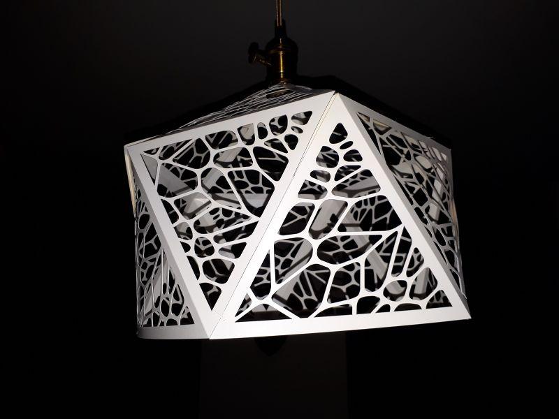 Lampe En Carton Fa U00e7on Vorono U00ef  U2014 Wikifab
