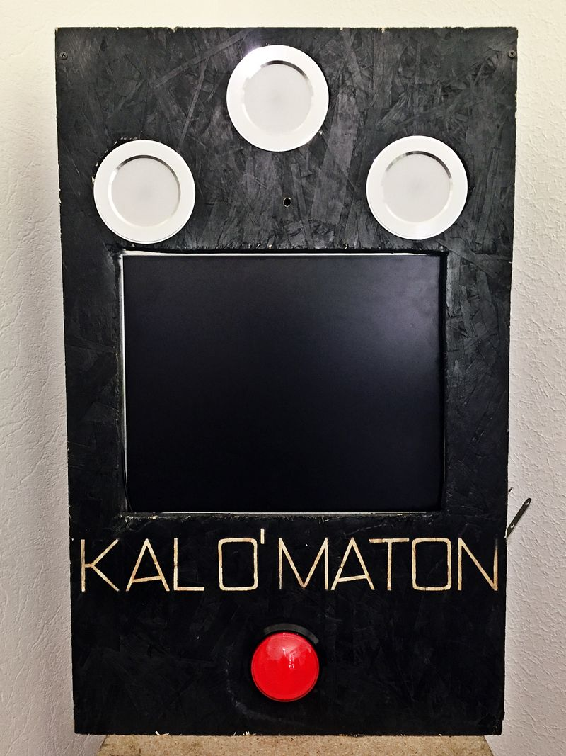 KALO' MATON Photomaton automatique à base de Raspberry Pi IMG 2065.JPG
